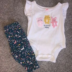 Carters Girl Outfit